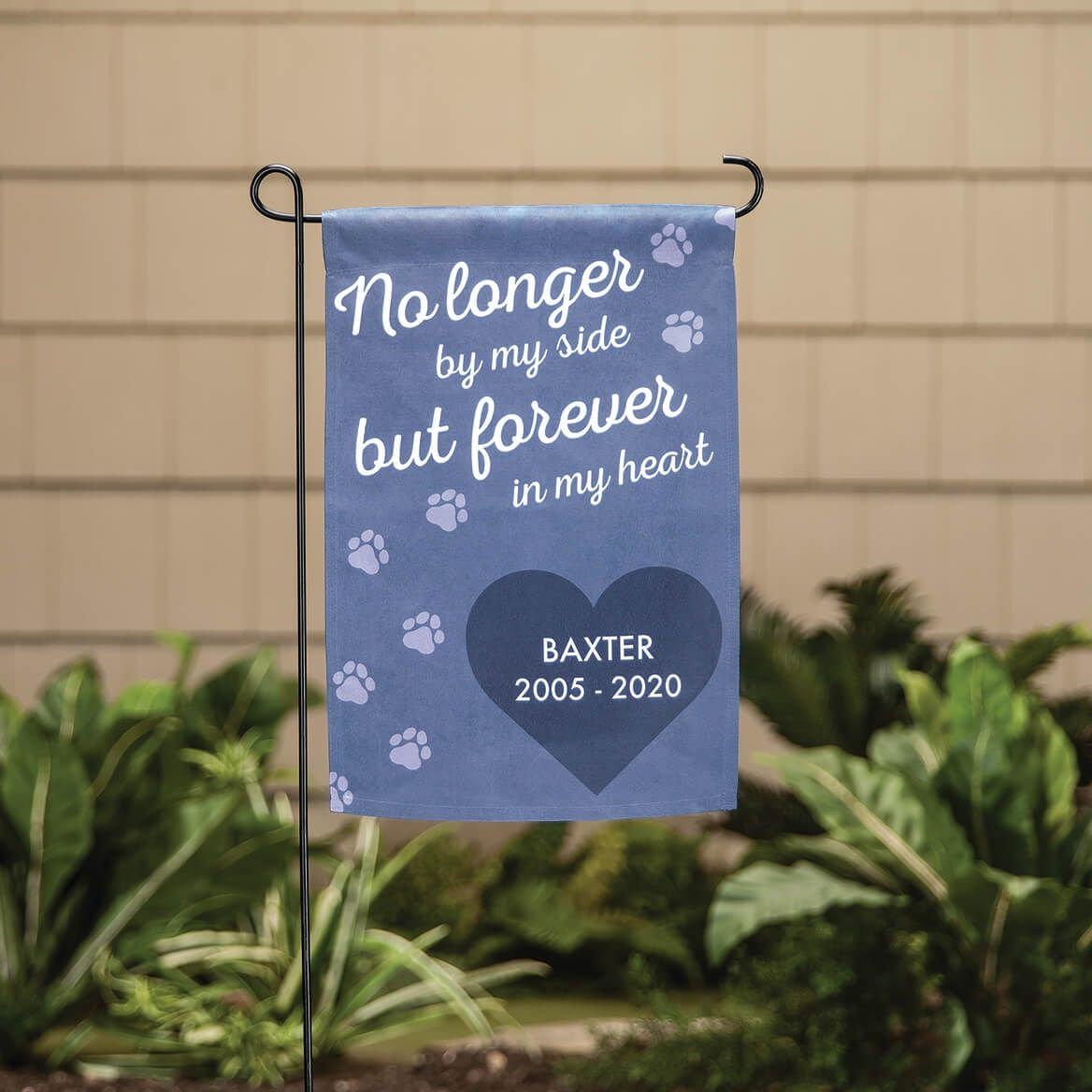 Personalized Pet Memorial Garden Flag-370442