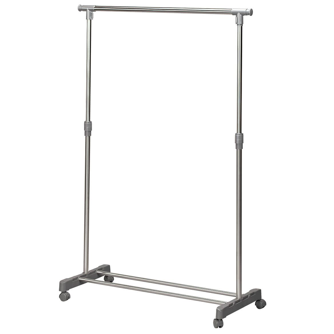 Extendable Wardrobe Rolling Rack-370509