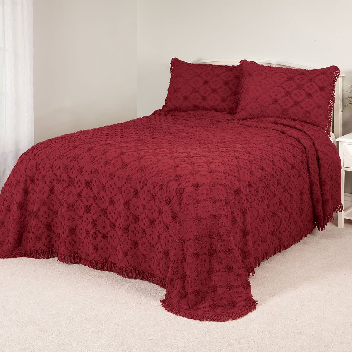 Charleston Way Chenille Bedding Set-370533