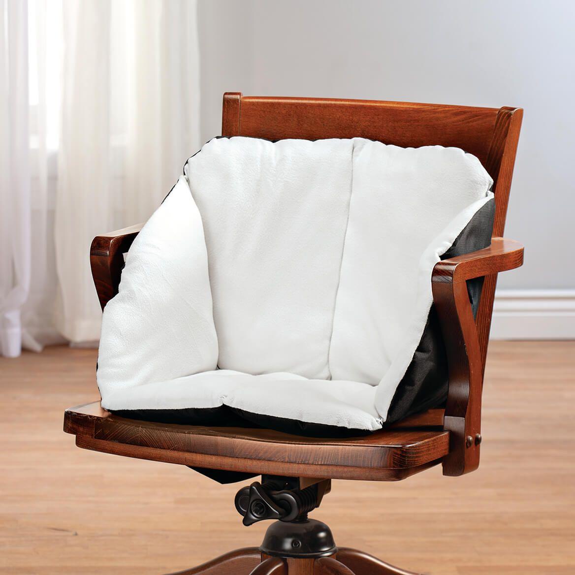 Fleece Total Support Chair Cushion-370578