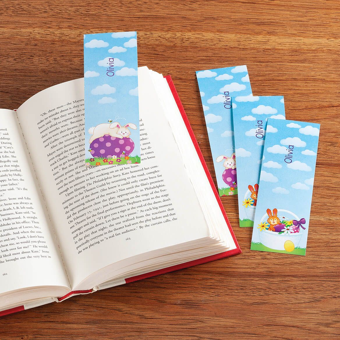 Personalized Children's Easter Bookmarks, Set of 4-370616