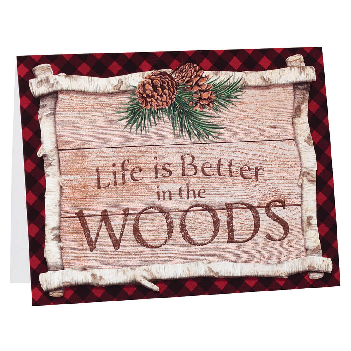 Northwoods Note Cards Set of 20-370975