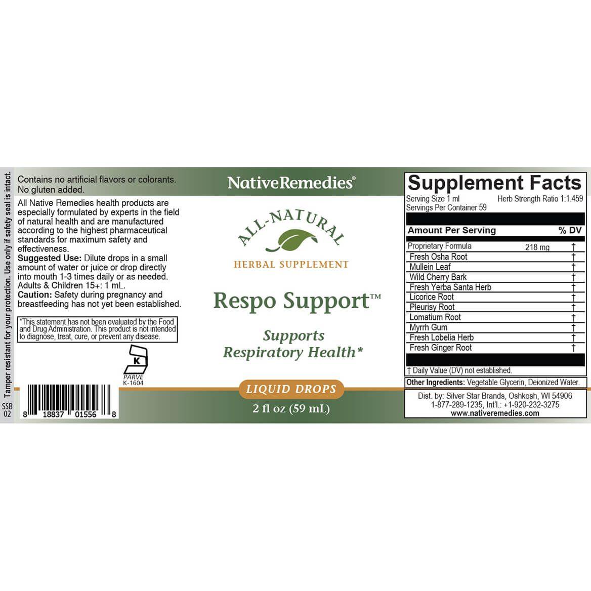 NativeRemedies®Respo Support-370985