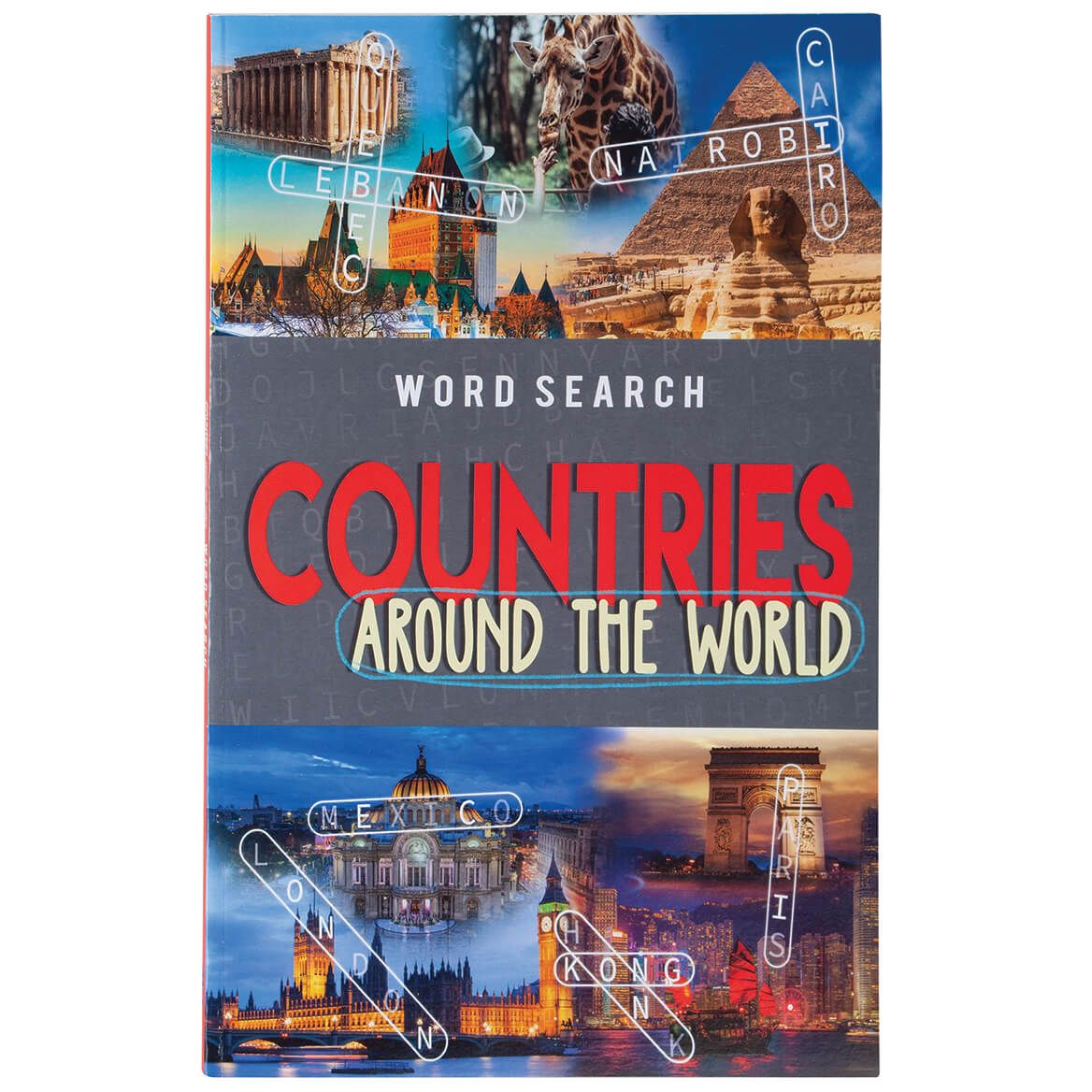 Around the World Word Search Set of 2-371057