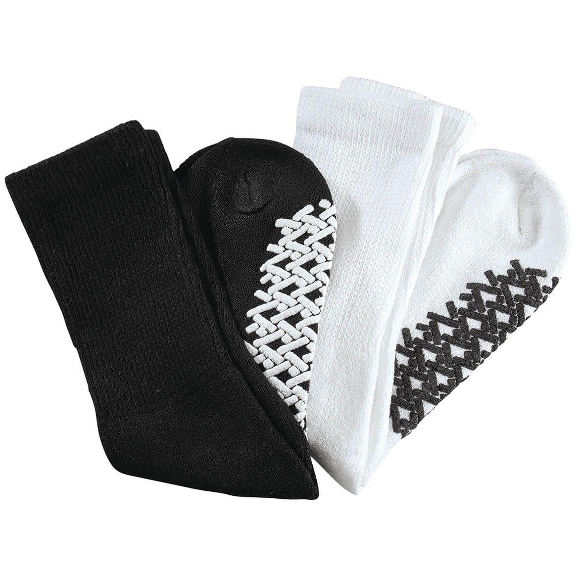 Silver Steps™ Diabetic Gripper Socks, 2 Pairs-371090