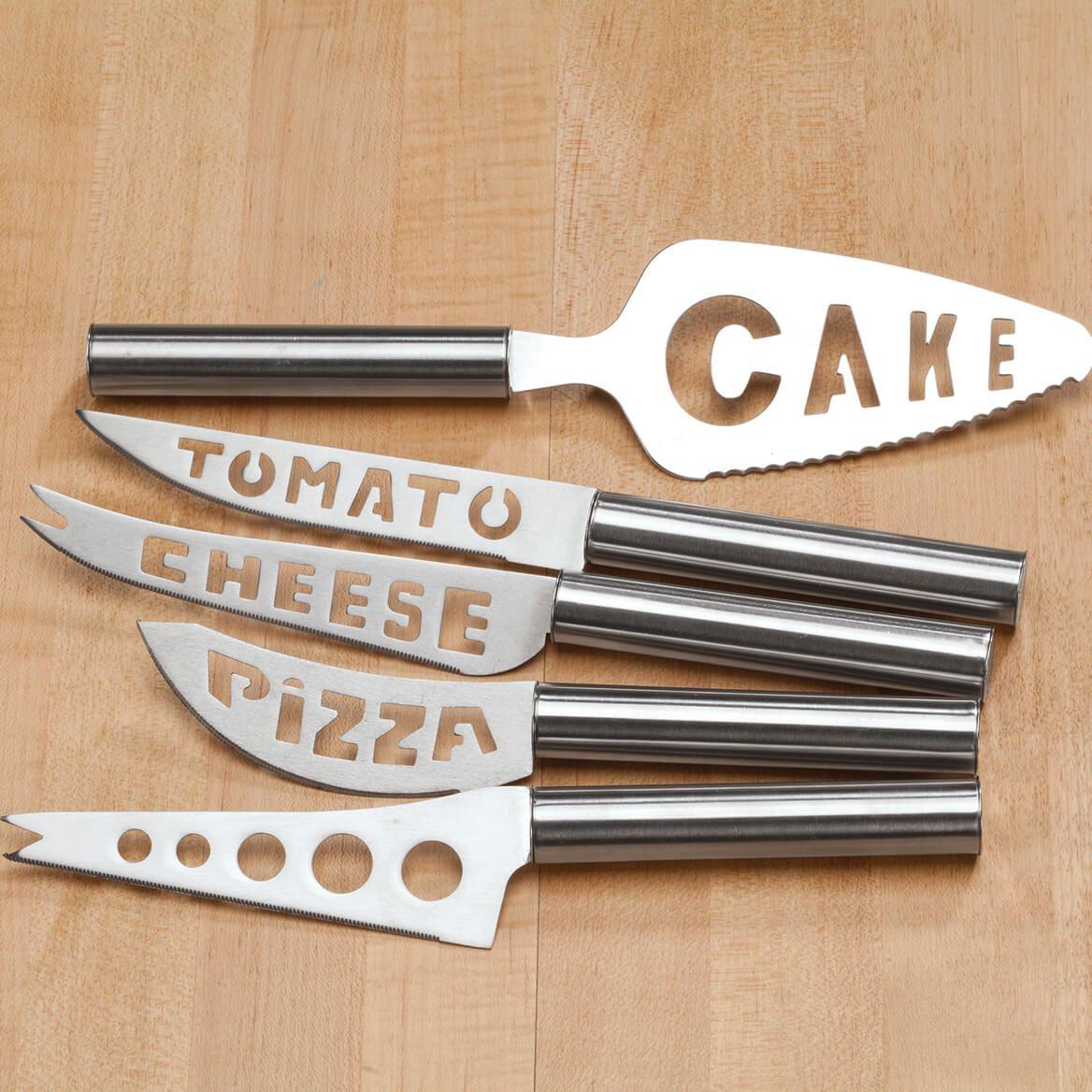 5 Piece Knife Serving Set-371114