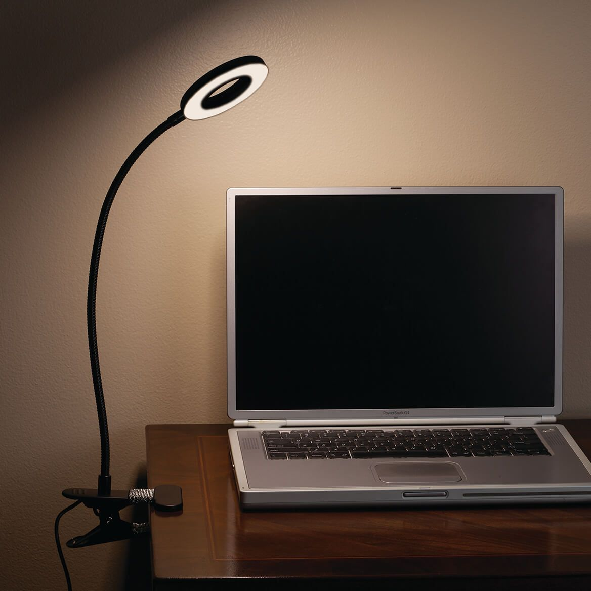 Clip-On Reading Light with 3 Color Modes-371217