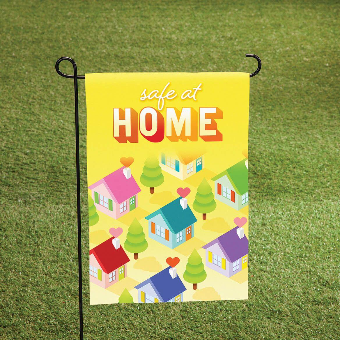 Safe at Home Garden Flag-371227