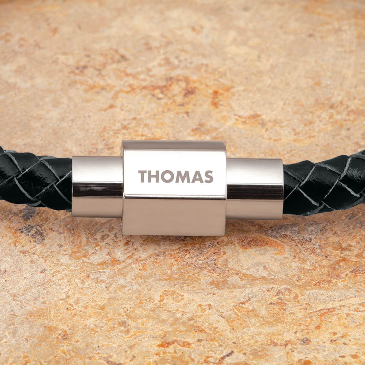 Personalized Leather Rope Bracelet-371267