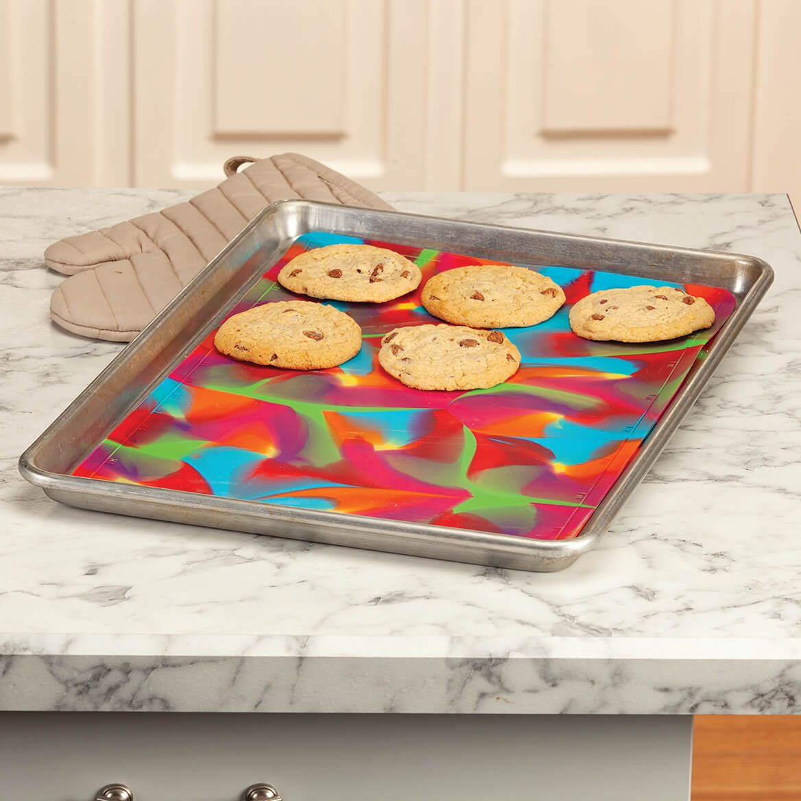 Colorful Silicone 2 Sided Baking Mat-371277