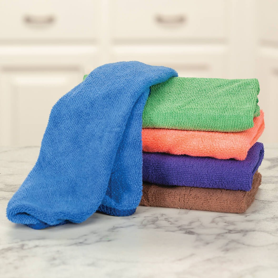 Microfiber Colorful Dishcloths Set of 5-371280