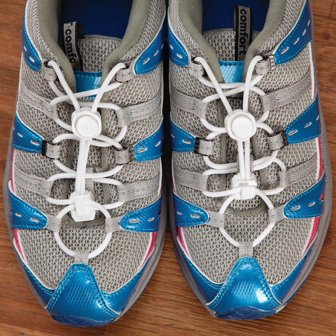 Silver Steps™ Locking Stretch Shoe Laces-371372