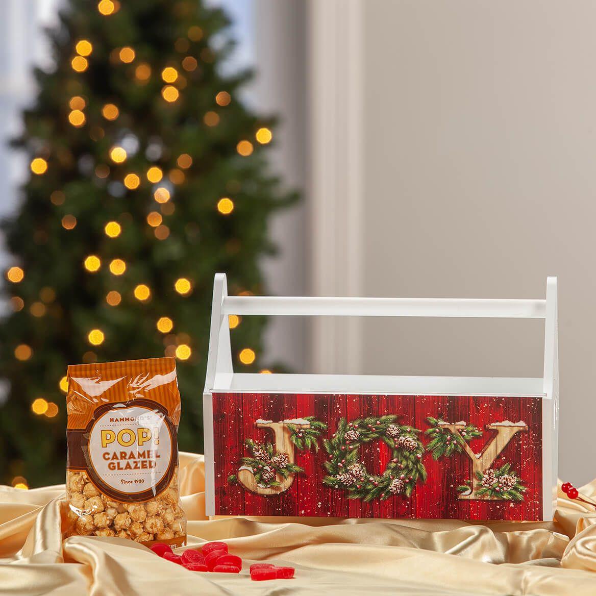 Christmas JOY Trough Caddy-371422