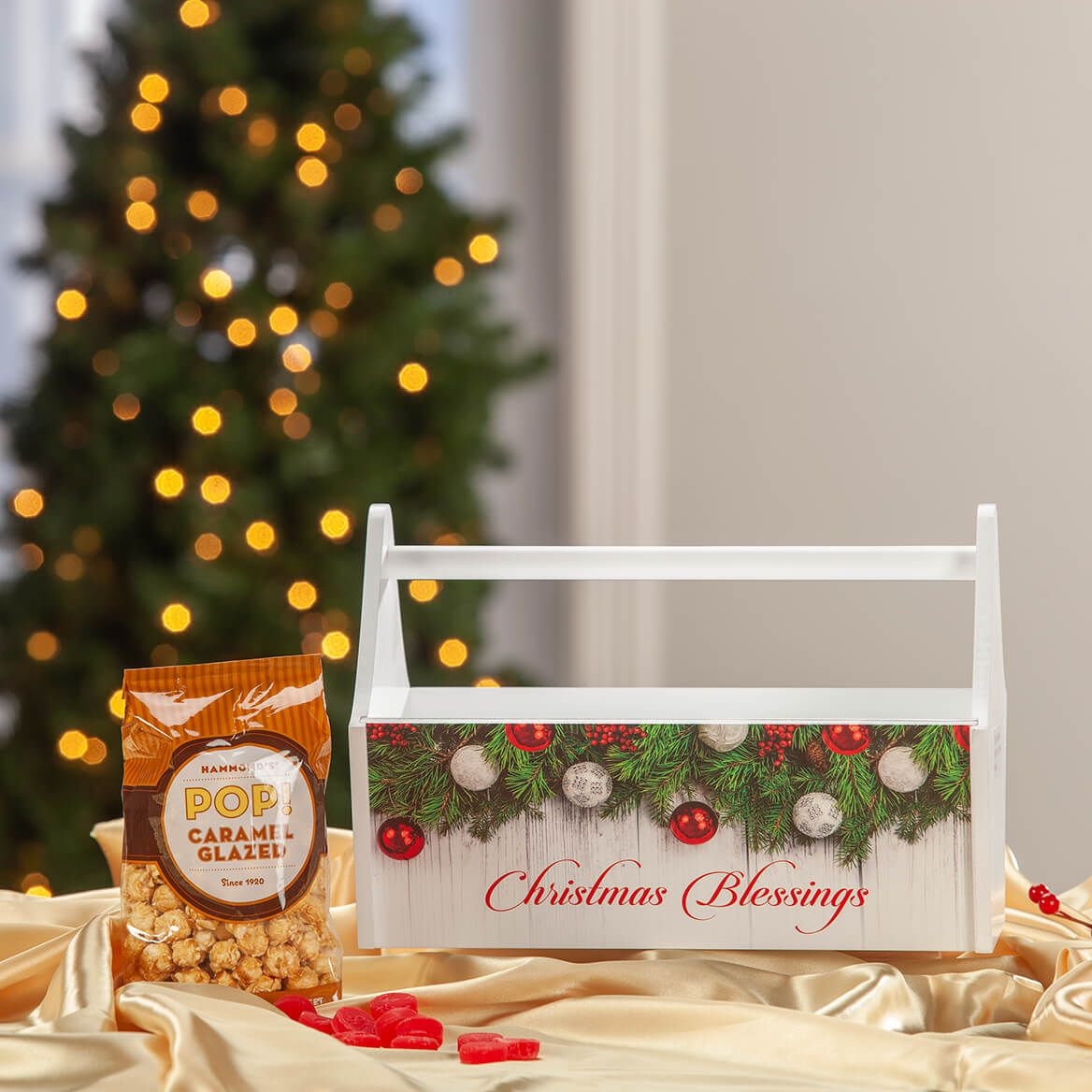 Garlands Christmas Blessings Trough Caddy-371426