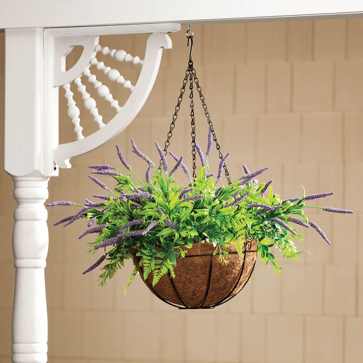 Fully Assembled Lavender Hanging Basket by OakRidge™-371511