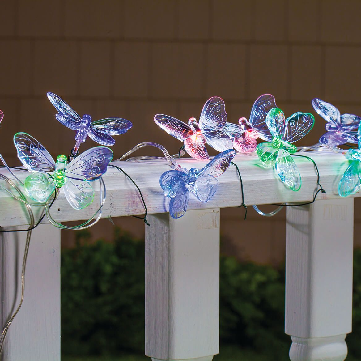Butterfly Solar String Lights-371712