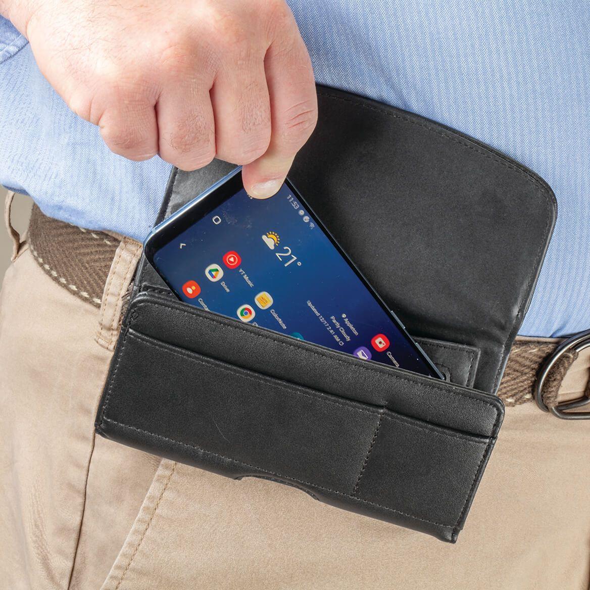 Men's Cell Phone Holster Case & Wallet Combo-371817