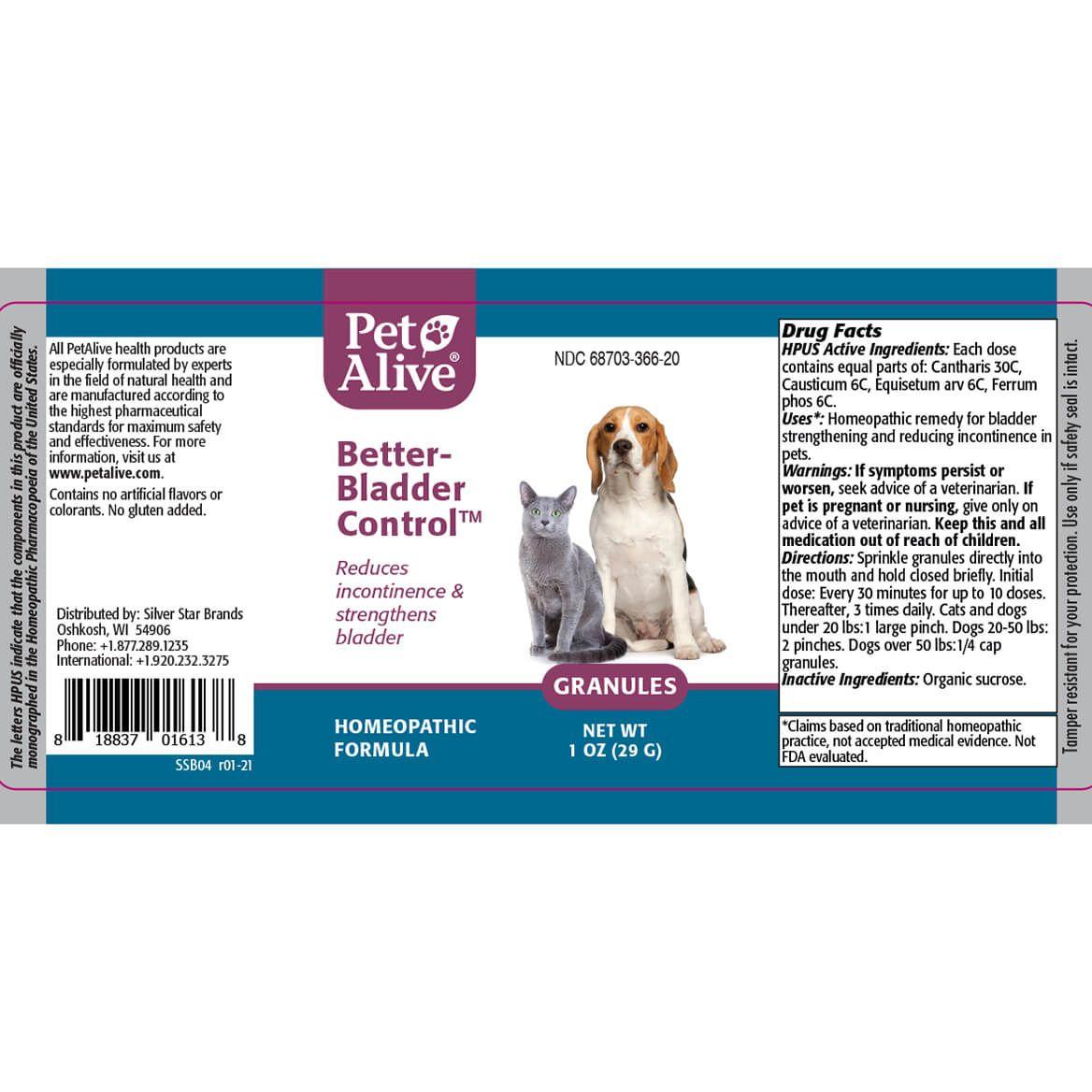 PetAlive® Better-Bladder Control™ Granules-371830