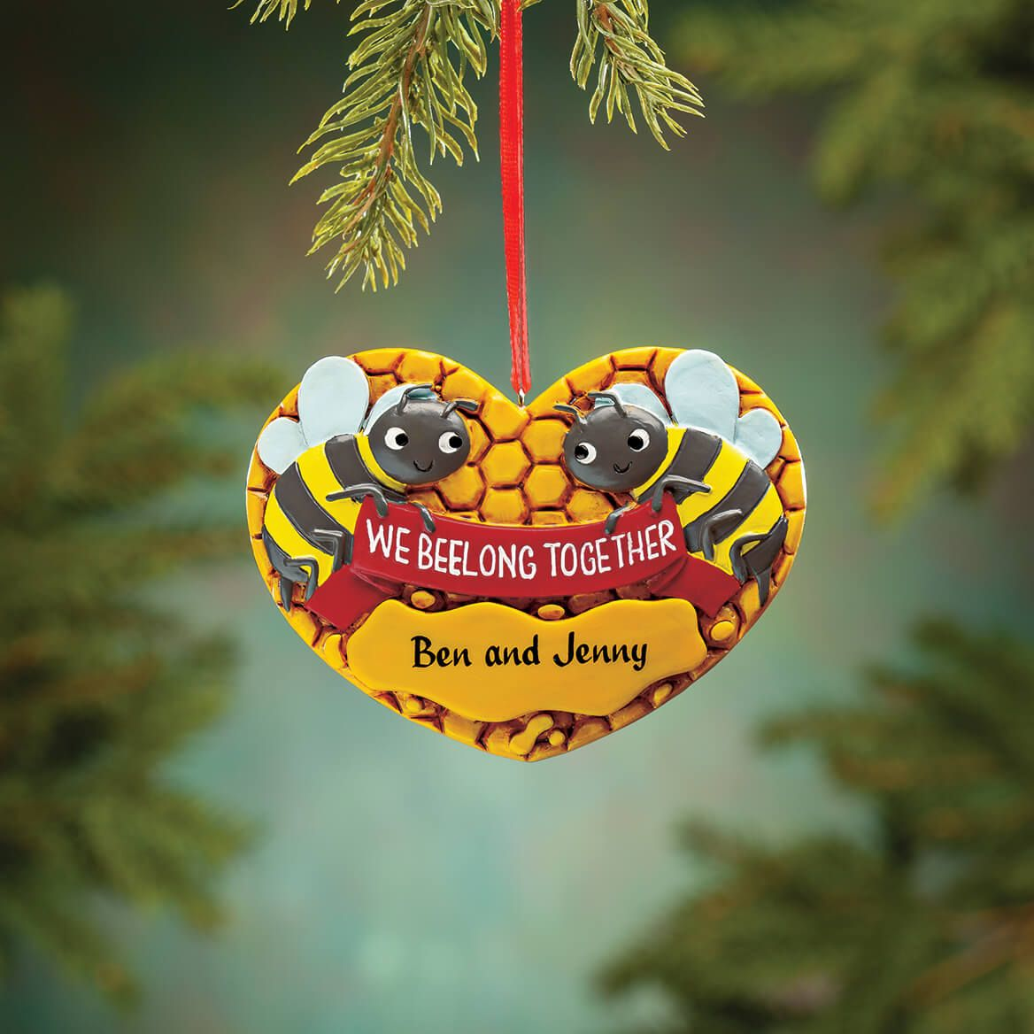 Personalized We Beelong Together Ornament-371863