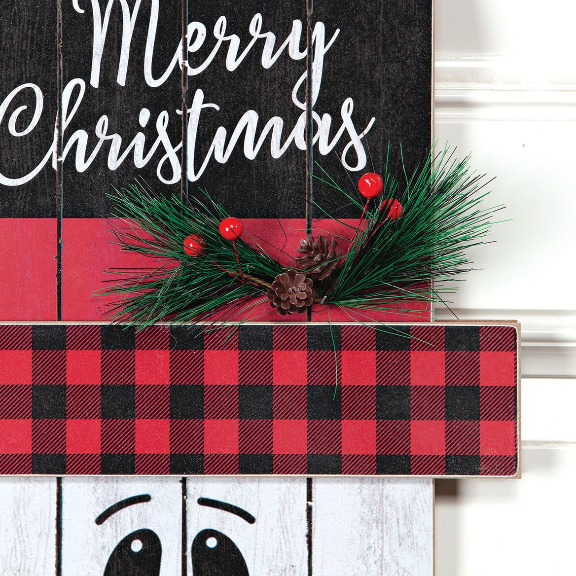 Double-Sided Christmas Sign by Holiday Peak™-371871