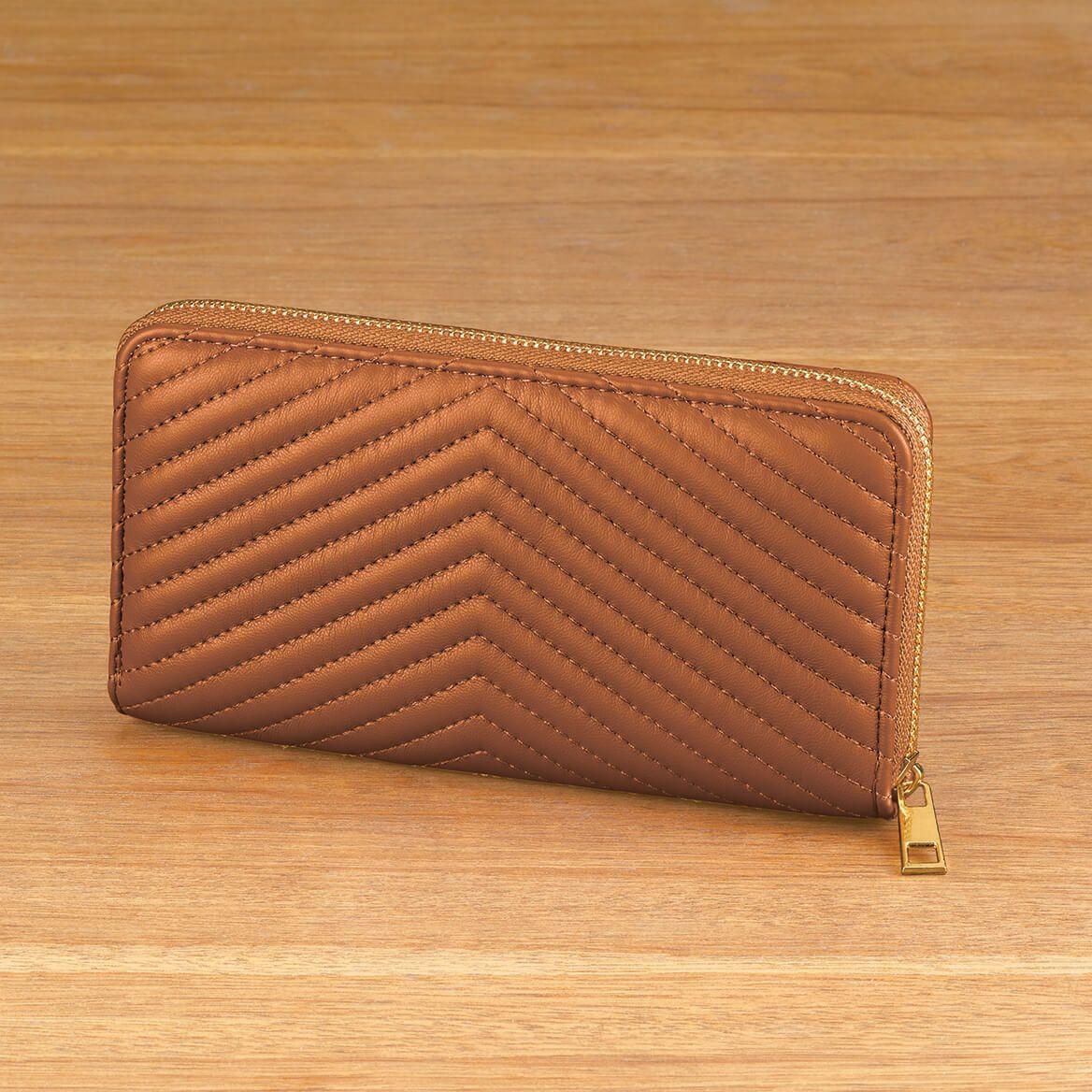 Chevron Trapunto Wallet-371885