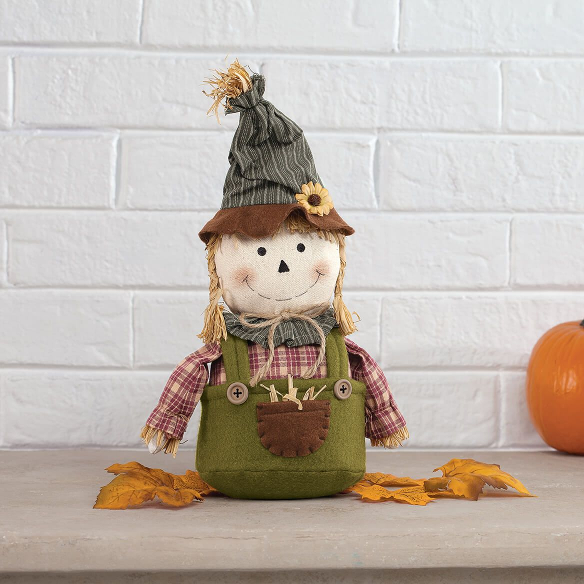Weighted Scarecrow Shelf Sitter by Holiday Peak™-371964