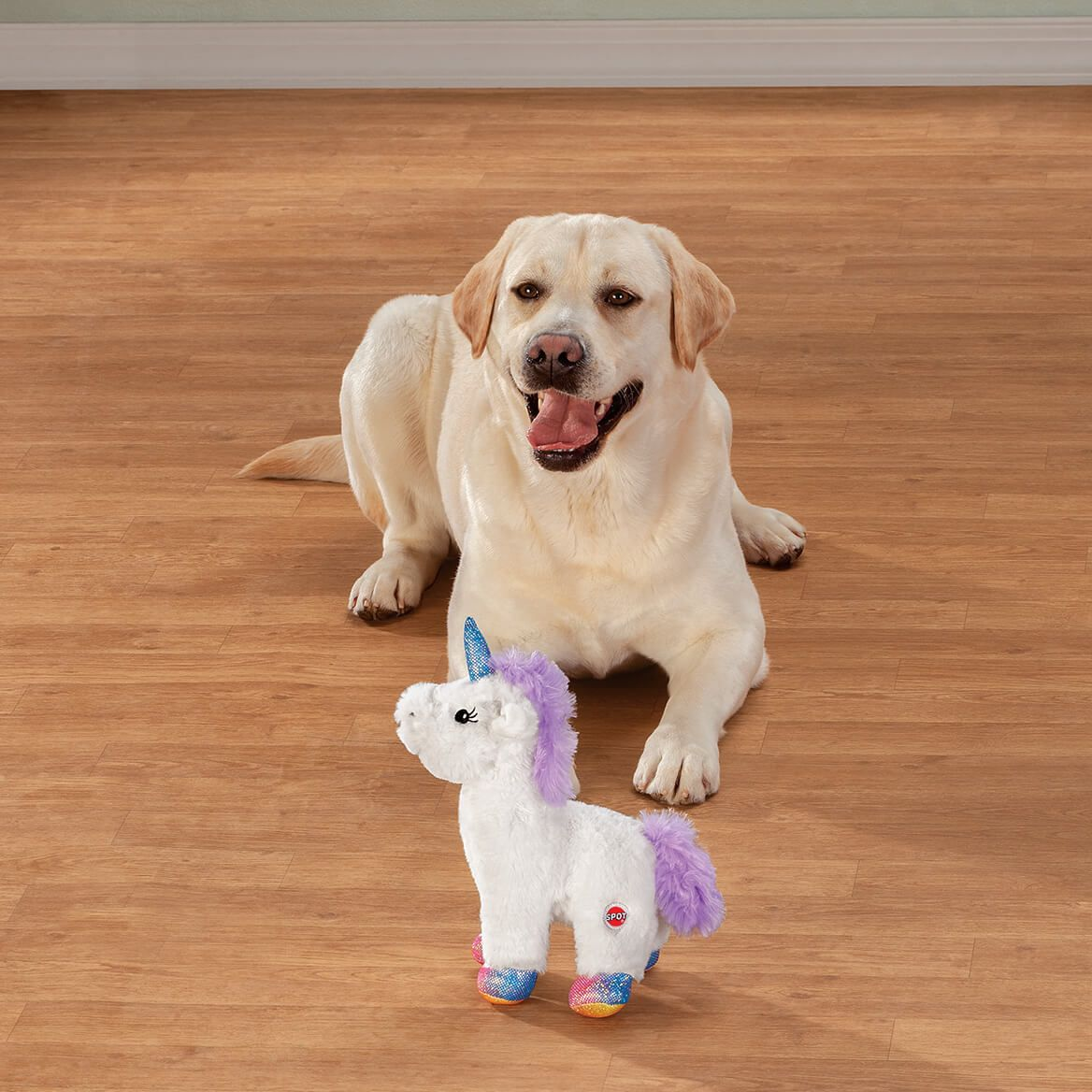 Plush Unicorn Dog Toy-372159