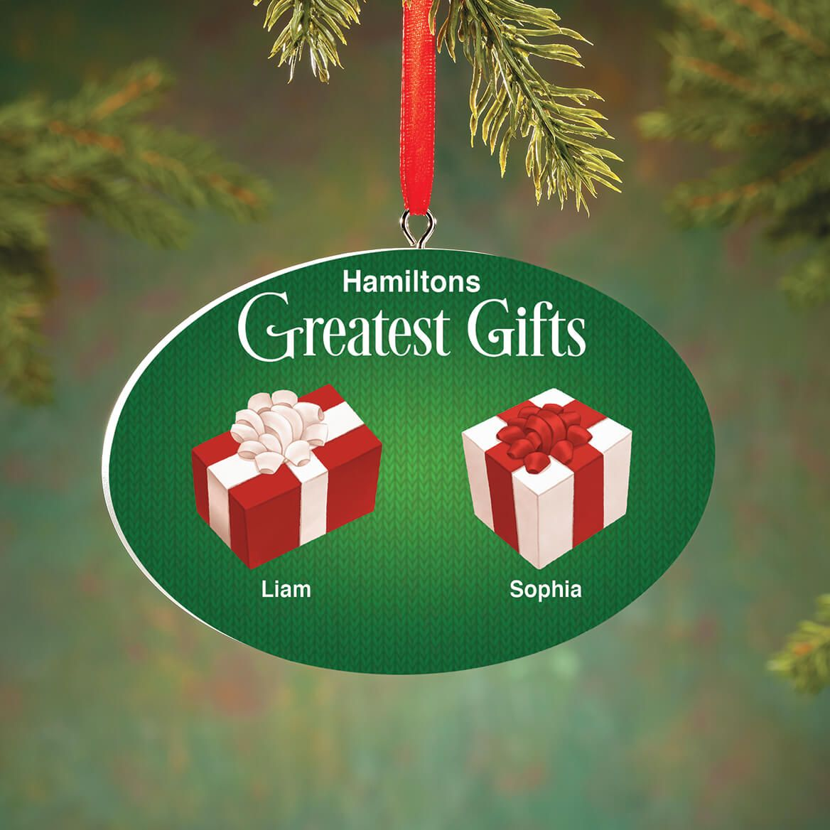 Personalized Greatest Gifts Ornament-372597