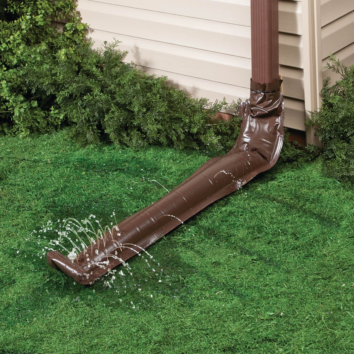 Brown Downspout Extension, Set of 2-372598