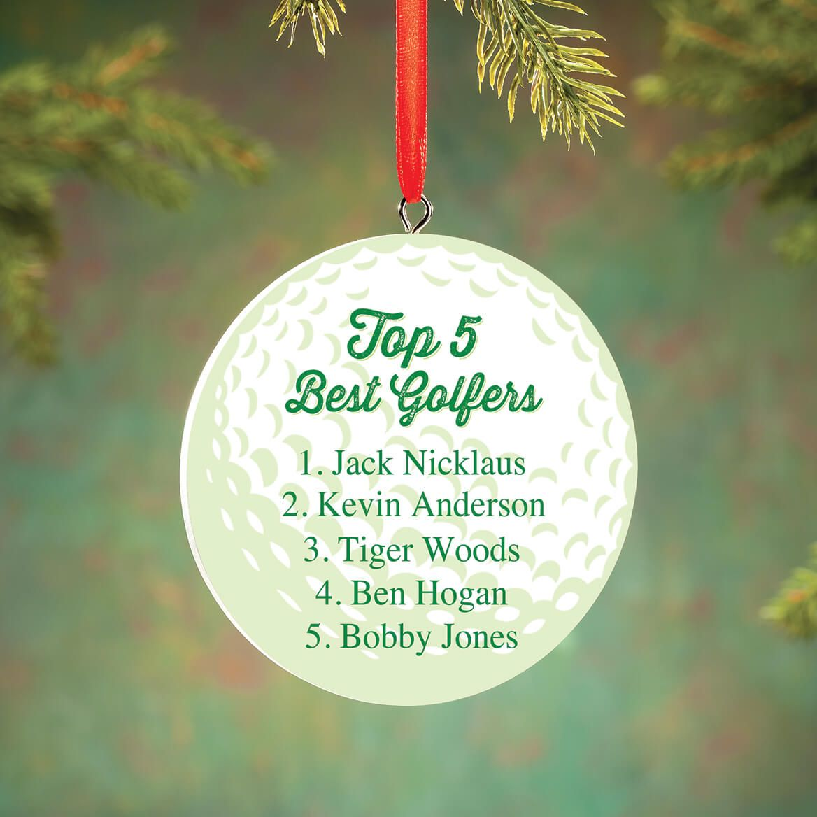 Personalized Best Golfers Ornament-372720