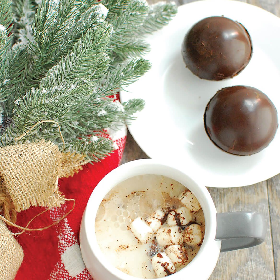 Fudgy Bombs Hot Cocoa Bombs, Pack of 3-372999