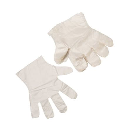 Plastic Gloves, Pack of 100-303212