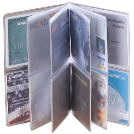 Credit Card Insert For Wallet - 12 Sleeve-303324