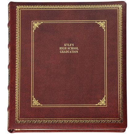 Personalized Library Leather Album-309250