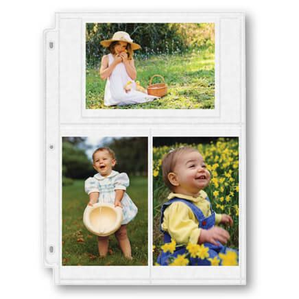 Double Weight Pocket Pages 4x6-309355