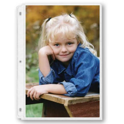 "Photo Album Pages – Double-Weight 8"" x 10"" Photo Pages-309357"