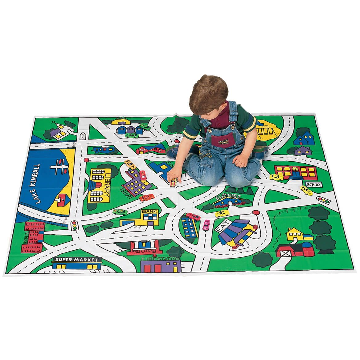 Toy Car Floor Mat-310185