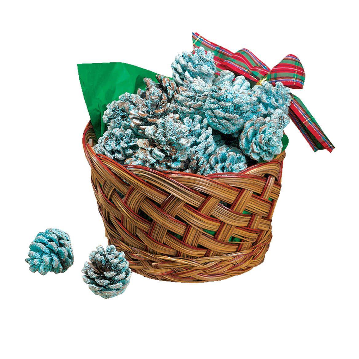 Starter Pinecones in Basket-310790