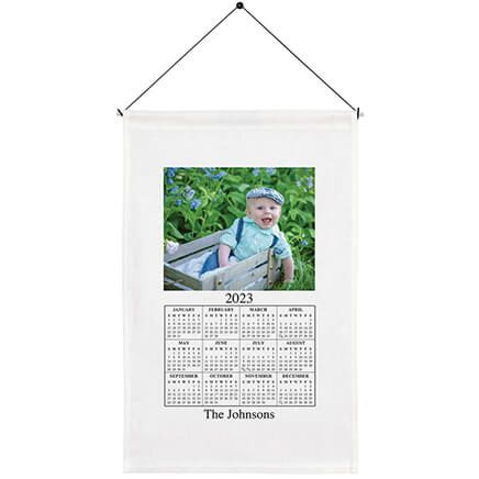 Personalized Photo Calendar Towel-310892