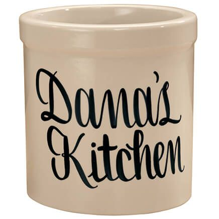 Personalized Stoneware Crock 2 Quart-310991