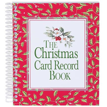 Christmas Card Record Book-311372
