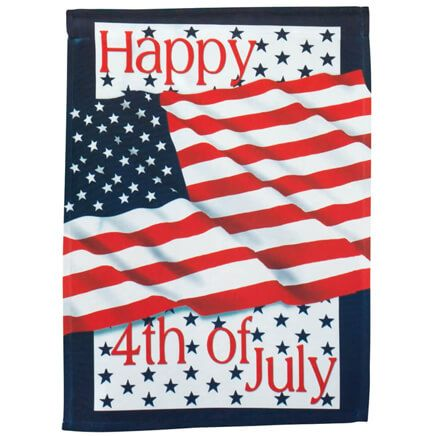 4th Of July Garden Flag-311453
