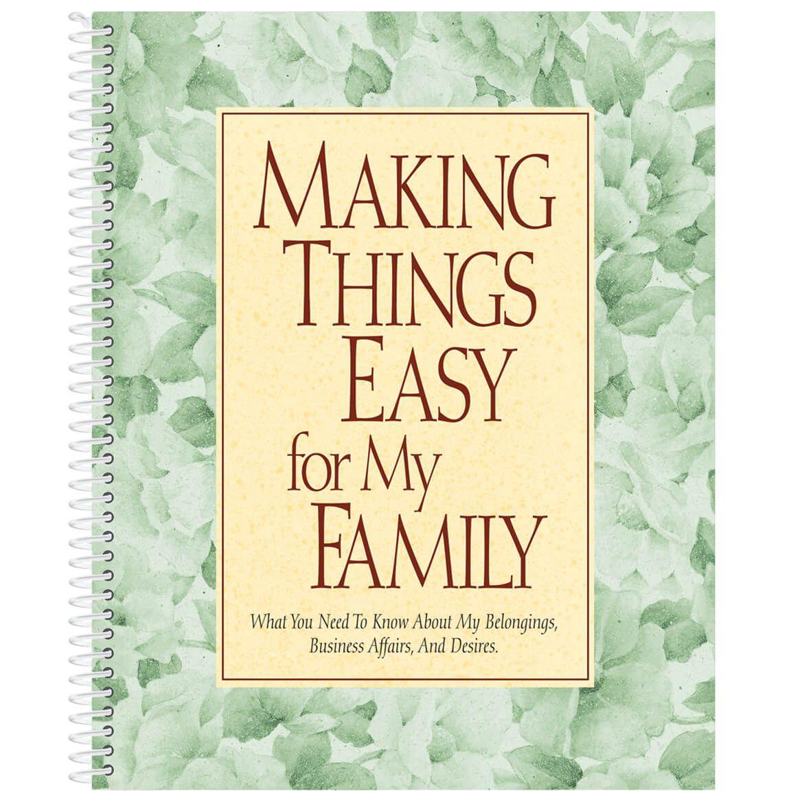 Family Organizer Book-311707