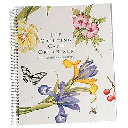 Greeting Card Organizer Book-311864