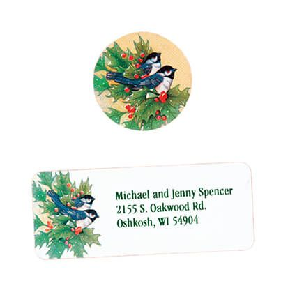 Winter Chickadee Address Labels And Seals Set-311971