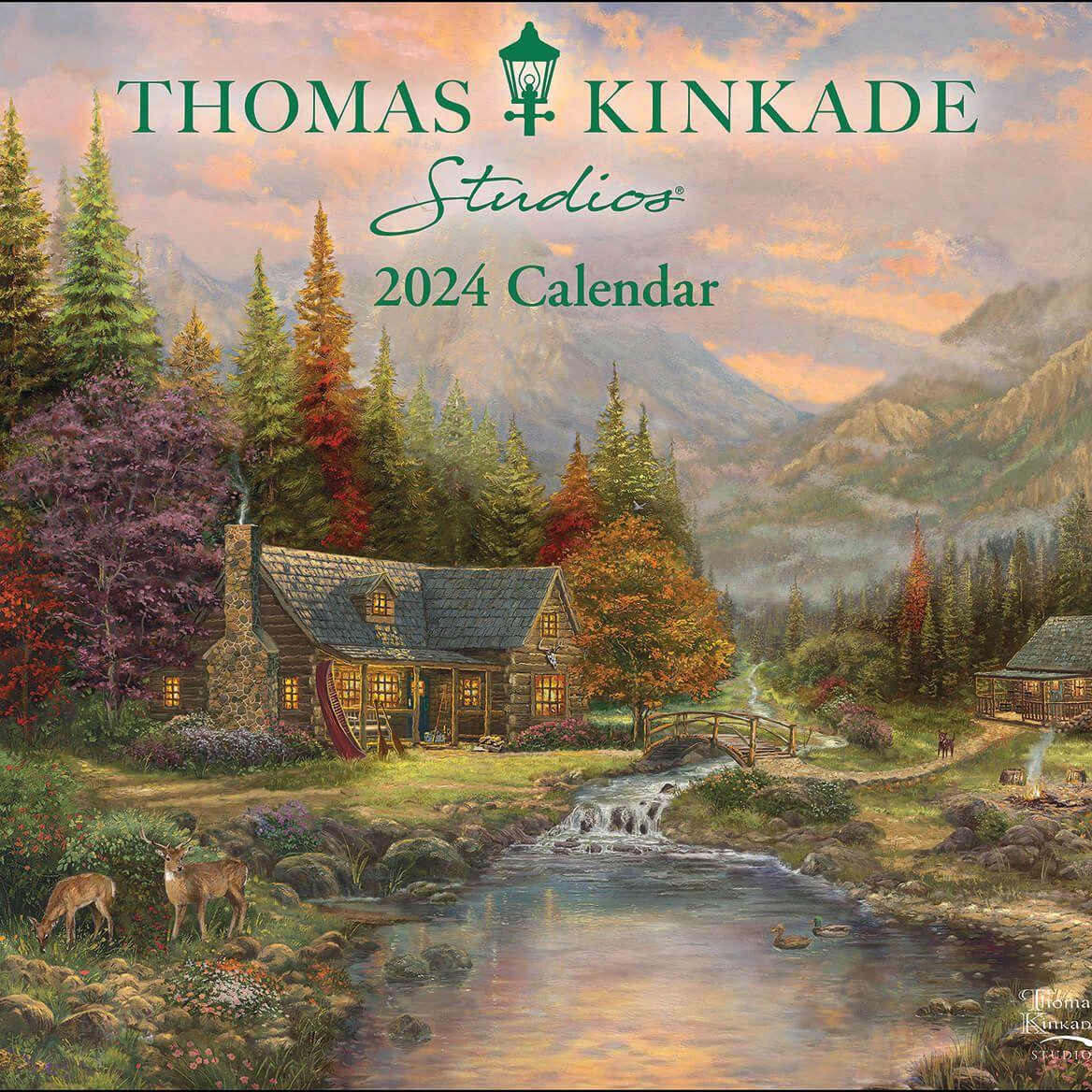 Thomas Kinkade Wall Calendar-312155