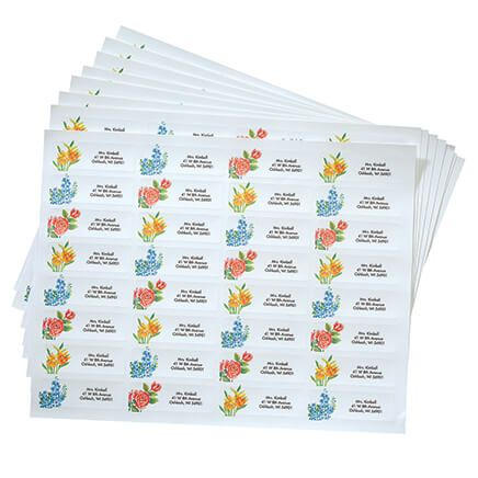 Floral Address Labels - 250-312727