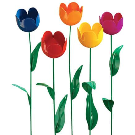 Artificial Tulips - Set Of 5-312866