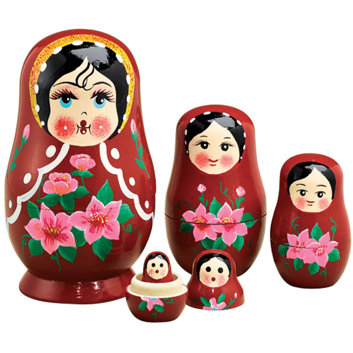 Traditional Russian Nesting Doll Set/5-313226