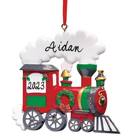 Personalized Train Ornament-314174